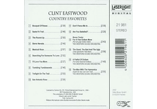 Clint Eastwood - Country Favourites - (CD)