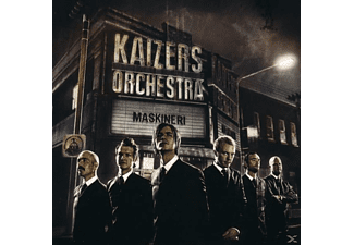 Kaizers Orchestra - Maskineri [CD]