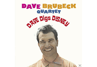 The Dave Brubeck Quartet - Dave Digs Disney - (CD)