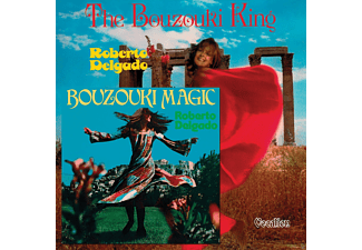 Roberto Delgado - Bouzouki Magic & The Bouzouki King [CD]