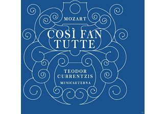 Teodor Currentzis - Mozart: Così Fan Tutte - (CD)