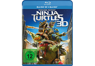 Teenage Mutant Ninja Turtles - (3D Blu-ray (+2D))