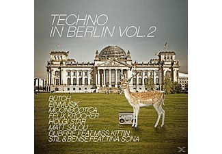 VARIOUS - Techno In Berlin 2015 [CD]