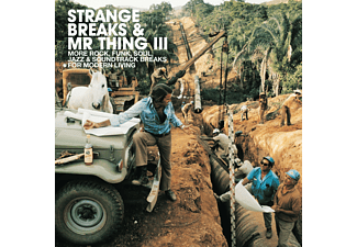 VARIOUS - Strange Breaks & Mr Thing Iii - (CD)