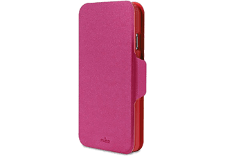 PURO iPhone 6 Bi-Color Wallet - Rosa/Röd