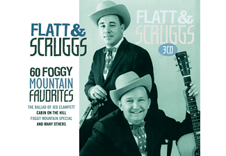 Flatt & Scruggs - 60 Foggy Mountain Favorites - (CD)