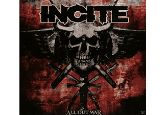 Incite - All Out War - (CD)