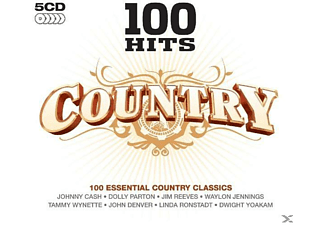VARIOUS - 100 Hits Country - (CD)