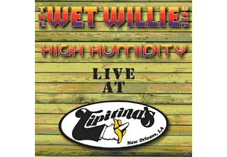 Wet Willie - High Humidity-Live At Tipitina's - (CD)