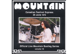 Mountain - Canadian Festival Express 1970 - (CD)
