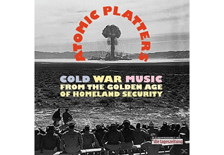 Various - Atomic Platters-Cold War Music - (CD + Buch)