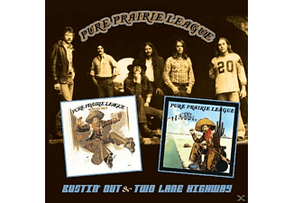 Pure Prairie League - BUSTIN OUT & TWO LANE HIGHWAY - (CD)