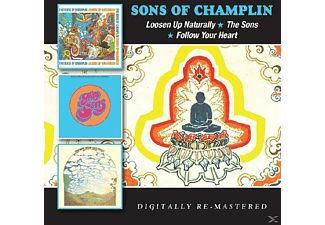The Sons Of Champlin - Loosen Up Naturally/The Sons/Follow Your Heart [CD]