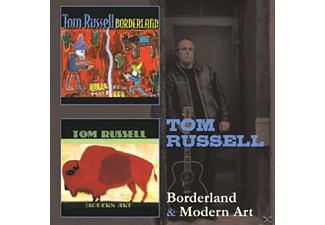 Tom Russell - BORDERLAND/MODERN ART - (CD)