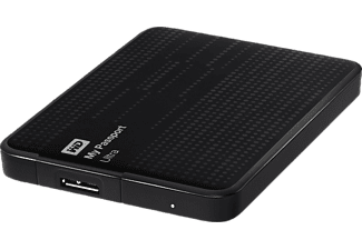 WD My Passport Ultra 1,5 TB - Svart