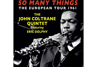 Eric Dolphy, John Coltrane Quintet - So Many Things: The European Tour 1961 - (CD)