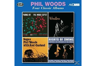 Phil Woods - 4 Classic Albums Plus - (CD)