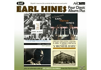 Earl Hines - 4 Classic Albums Plus - (CD)