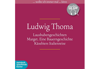 Ludwig Thoma: Klassiker to go - 5 CD - Anthologien/Gedichte/Lyrik