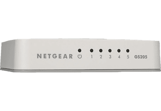 NETGEAR GS 205-100PES 5-PORT GIGABIT SWITCH, Switch