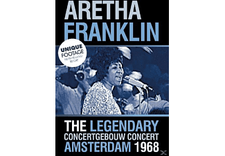 Aretha Franklin - LIVE 1968 AT THE CONCERTGEBOUW AMSTERDAM - (DVD)
