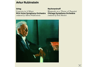 Arthur Rubinstein - Grieg: Concerto In A Minor+R [CD]