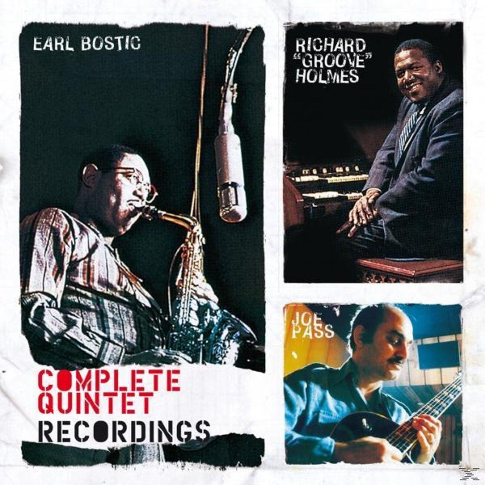 "Earl Bostic;Richard ""groove""holmes;Joe Pass - Complete Quintet Recordings - (CD)"