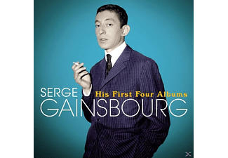 Serge Gainsbourg - His First Four Albums+18 Bon - (CD)
