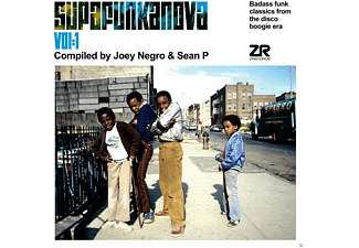 Joey Negro, Sean P, VARIOUS - Supafunkanova - (CD)