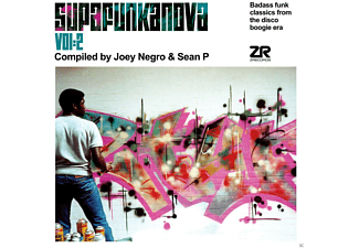 Joey Negro, Sean P, VARIOUS - Supafunkanova 2 [CD]