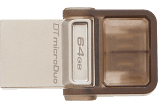 KINGSTON DT MicroDuo USB 2.0 Micro USB OTG 64 GB USB Bellek