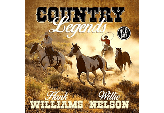 WILLIAMS, H.-NELSON, W. - Country Legends [CD]