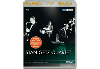 VARIOUS, Stan Quartet Getz - Stan Getz Quartet-Live In Düsseldorf 1960 - (Blu-ray Audio)