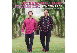 Richard Galliano, Sylvan Luc - La Vie En Rose (Recontres Avec Edith Piaf &Gus Viseur) [CD]