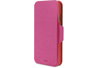 PURO iPhone 6 Plus Bi-Color Wallet - Rosa/Röd