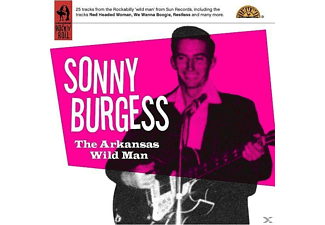 Sonny Burgess - The Arkansas Wild Man - (CD)
