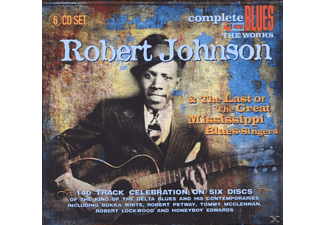 Robert Johnson - And The Last Of The Great Mississippi Blues Singer - (CD)