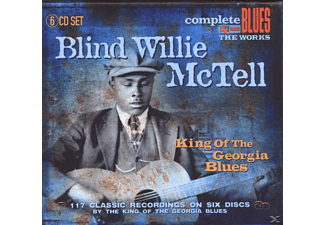Blind Willie McTell - King of the Georgia Blues - (CD)