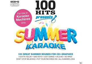 Karaoke - 100 Hits Presents Summer Karaoke - (CD)