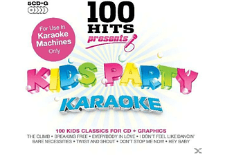 Karaoke - 100 Hits Presents Kids Party Karaoke - (CD)
