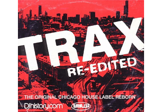 VARIOUS - Trax Re-Edited - (CD)