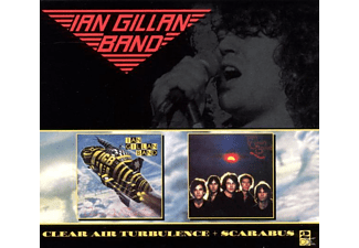 Ian Band Gillan - Clear Air Turbulence+Scarabus (Rem.) - (CD)