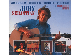 John Sebastian - John B.Sebastian+The Four Of Us...(Plus) - (CD + DVD Video)