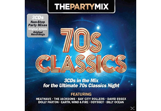 VARIOUS - Party Mix 70's Classic - (CD)