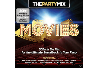 VARIOUS - Party Mix Movies - (CD)
