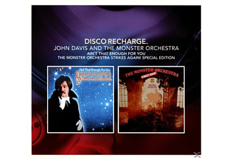 John & The Monster Davis - Disco Recharge: Ain't That Enough For You/The Mo [CD]