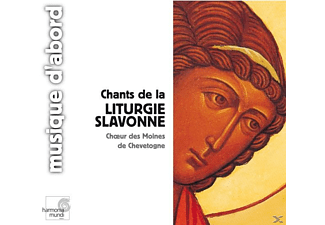 Moenchschor Von Chevetogne - Chants De La Liturgie Slavonne - (CD)