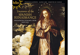 The Choir Of Westminster Cathedral;Various - Treasures Of The Spanish Renaissance [CD]