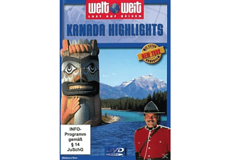 Kanada Highlights (Bonus New York) [DVD]