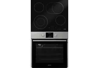GORENJE Hot Chili Set 2 Einbaubackofenset (Glaskeramik-Kochfeld, A, 65 Liter)